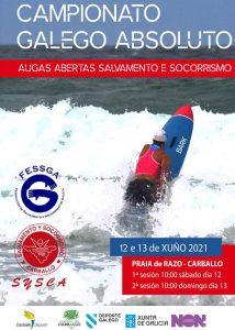 Campionato Galego Absoluto - Augas Abertas Salvamento e Socorrismo