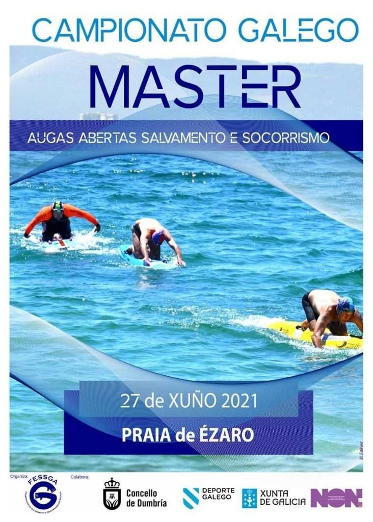 Campionato Galego Master Augas Abertas Salvamento e Socorrismo